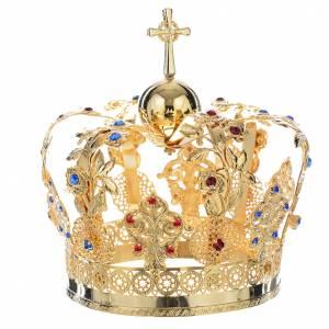 Corona Metallo decoro floreale s2