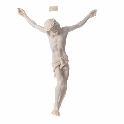 Corps Christ 37 cm poudre de marbre fin. neutre s6