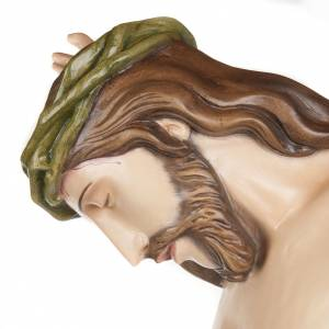 Corps de Christ 150 cm statue fibre de verre s8