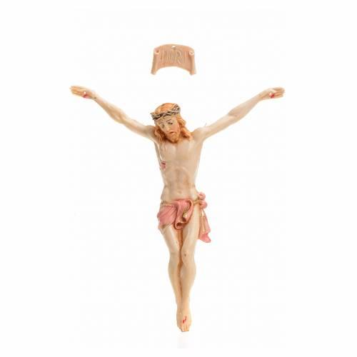 Corps du Christ pvc 9 cm Fontanini type porcelaine s1