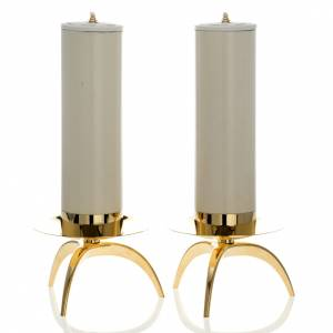 Couple of orthodox candle holders s1
