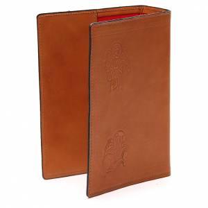 Couverture Bible Jérusalem 4 Évangélistes cuir brun s3