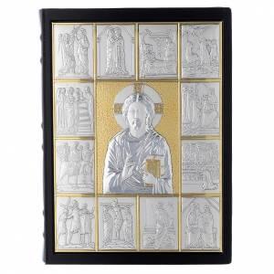 Couvertures pour lectionnaire: Couverture lectionnaire, cuir, Jésus Pantocrator