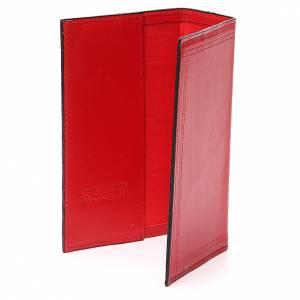 Couverture Lit. Heures vol. unique inscription imprimée cuir rouge s3