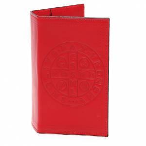 Couverture Lit. Vol. unique cuir rouge croix St Benoît s1