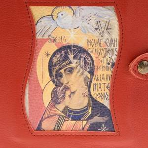 Couverture Néocatéchuménale rouge Vierge et saint esprit s2