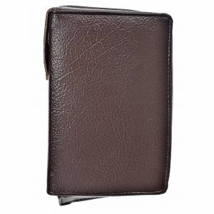 Catholic Bible covers: Cover Catholic Bible Anglicized in dark brown bonded leather
