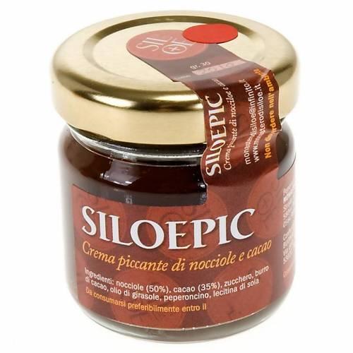 Crema picante de avellana y cacao 30gr. Monasterio Siloe s1