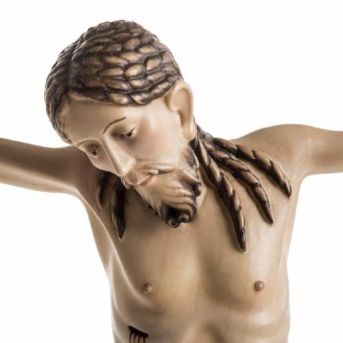 Corpo di Cristo San Damiano legno dipinto Val Gardena s3