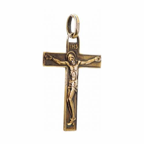 Croce rinascimentale argento 925 s2