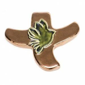 STOCK: Croce stilizzata colomba s7