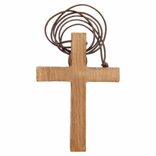 Crocifisso pettorale legno Bethléem s2