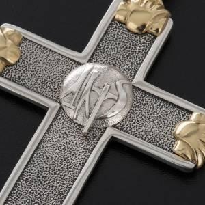 Croix pectorale Année de la Foi argent 925 bicolore s3