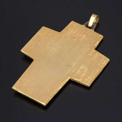 Croix pectorale laiton Dernière Cène s4