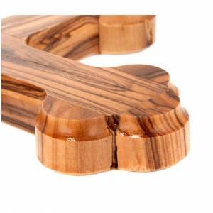 Croix Terre Sainte, bois d'olivier, trilobée s3