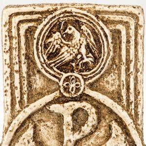 Cross-shaped stoup in stone, Bethléem s5