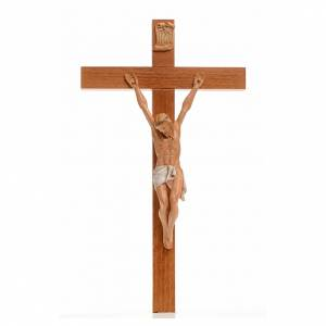 Crucifix bois Chris pvc 30x17 cm Fontanini s1
