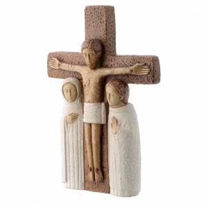 Crucifix en pierre, la compassion s2