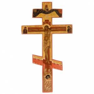 Crucifix ortodoxe ancien, XIX siècle s1