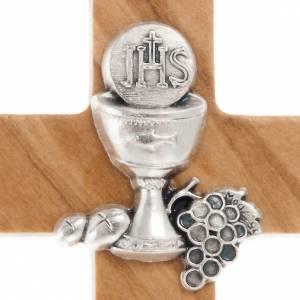 Vestidos comunión: Cruz para primera comunión madera olivo