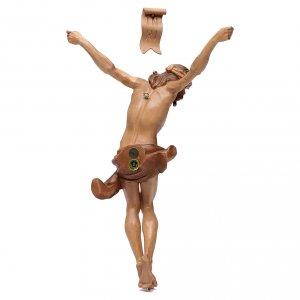Cuerpo de Cristo modelo Corpus, madera Valgardena varias patinad s4
