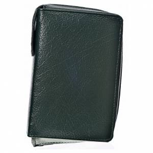 Daily Prayer covers: Daily prayer cover, green bonded leather