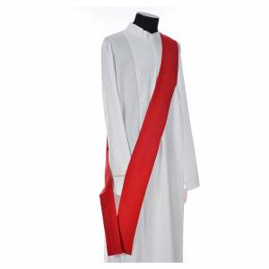 Dalmatic 100% polyester stylised cross, ear of wheat s9