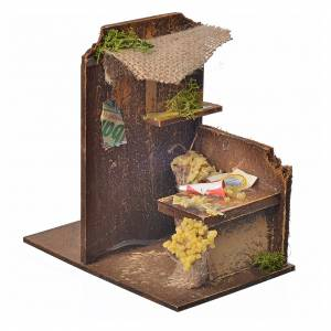 Décor crèche atelier pâte 15x9,5x9,5cm s2