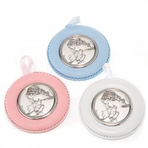 Medallas y decoraciones para cunas: Decoración para cuna Virgen con niño