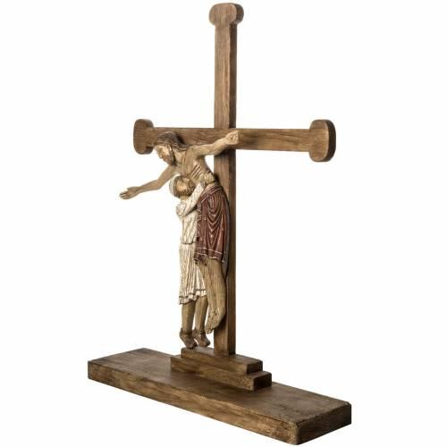 Deposition in old finishing wood 105 cm, Bethlehem Nuns s3