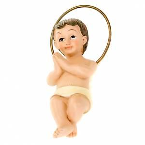 Figury Dzieciątko Jezus: Dzieciątko Jezus małe żywica 6 cm