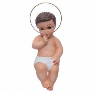 Figury Dzieciątko Jezus: Dzieciątko Jezus z gipsu 15 cm