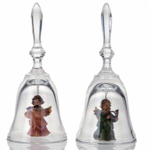 Anioły: Dzwonek kryształowy z aniołem