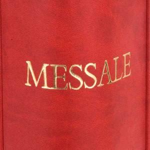 Deckel für Messbücher: Einband Roemisch Messbuch