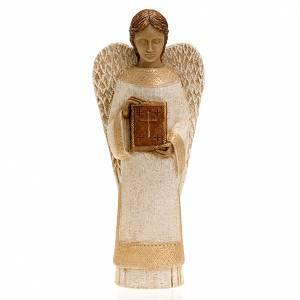 Krippe Bethlèem: Engel mit Buch Bäuerliche Krippe Bethleem