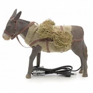 Neapolitanische Krippe: Esel mit Bewegung neapolitanische Krippe 24 cm