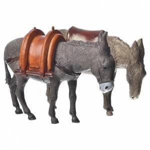 Krippe Moranduzzo: Eseln 2St. 10cm Moranduzzo