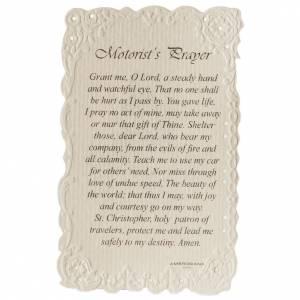 Estampa Saint Christopher con oración (inglés) s2