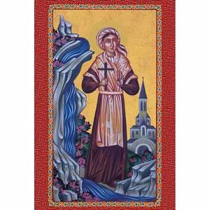 Estampas Religiosas: Estampa Santa Bernadette