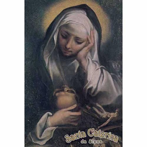 Estampa Santa Caterina orando s1
