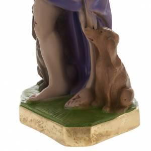 Estatua San Lázaro 30cm. yeso s4