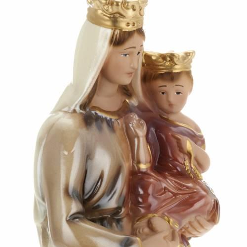 Estatua Virgen del Carmen 30cm. yeso s2