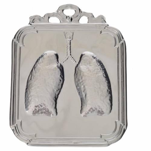 Ex-voto poumons 12x9 cm s1