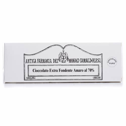 Extra fondente 70% gr 150 Camaldoli s1