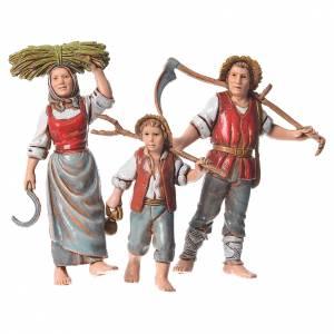 Famille agriculteurs 3 pcs 10 cm Moranduzzo s1