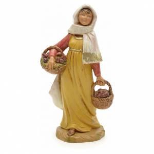Santons crèche: Femme aux figues crèche Fontanini 12 cm