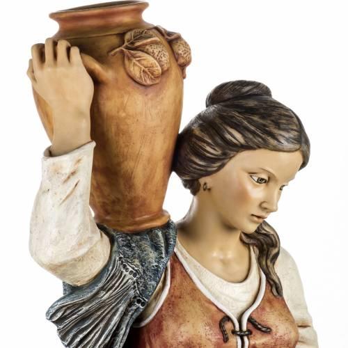 Femme avec amphore crèche Fontanini 125 cm résine s2