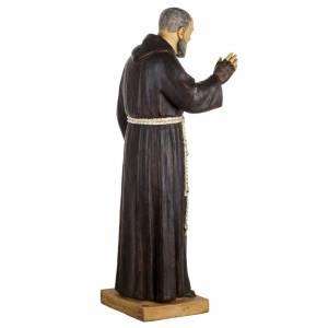 Figura Padre Pio 100 cm. resina Fontanini s6