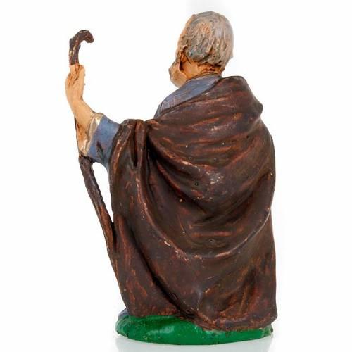 Saint Joseph à genoux avec bâton 10 cm s2