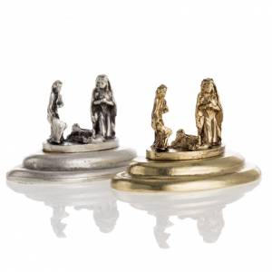 Figurine de la Sainte Famille 3x4 cm s1